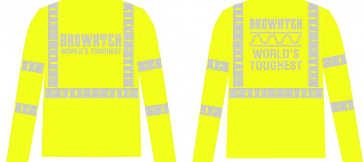This BADWATER ZZYXXZ long-sleeve shirt meets OSHA Class 3 Reflectivity Requirements for use during the day.