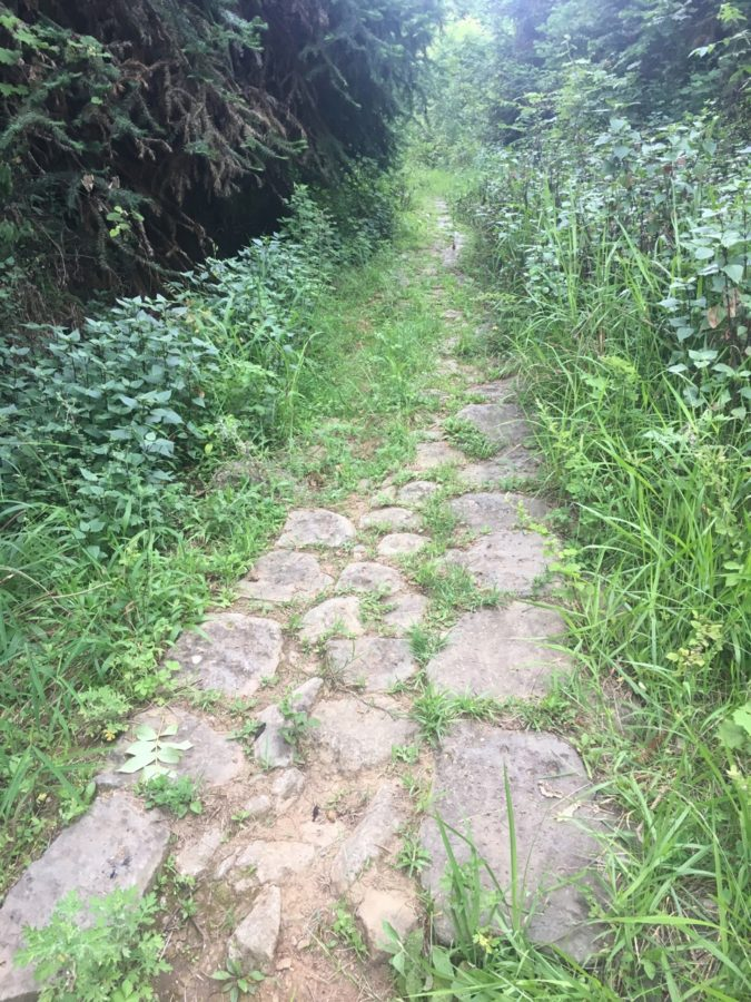 As you begin to near the finish back in Tengchong, you will run on a 2400-year-old cobblestone road that was - and is - part of the ancient Silk Road.